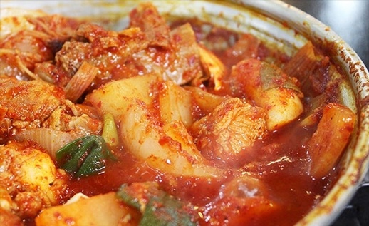 혀터파크 책임질 매운 갈비찜 맛집